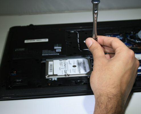 آنالیز هارد دیسک خراب شده